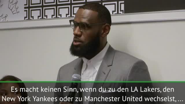 LeBron vergleicht Lakers mit Manchester United