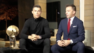 "Globe Soccer Award: Ronaldo ""sehr glücklich"""