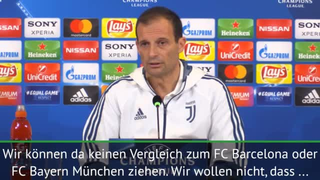 Captain Obvious! Juves Allegri erklärt die CL