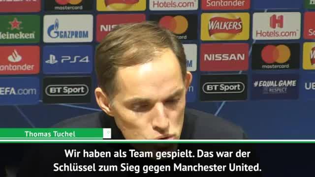"""Tuchels United-Coup: """"Haben als Team gespielt"""""""