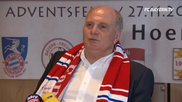 Hoeneß wieder Aufsichtsratsvorsitzender des FCB