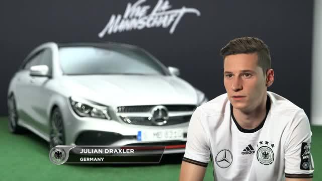 """EM 2016: Draxler: """"Wollen um Titel mitspielen"""""""