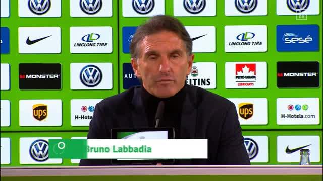 """Labbadia schwärmt: """"BVB verteidigt zusammen"""""""