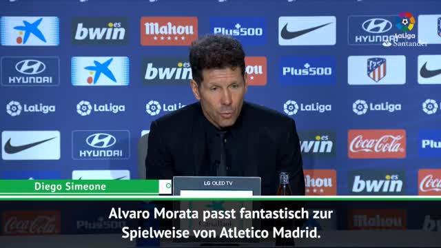 "Simeones lobt Morata: ""Passt fantastisch"""
