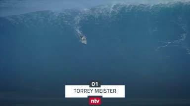 Top 5: Wenn Surfer die Kontrolle verlieren