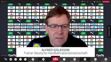 Gislason formuliert Hoffnung für die Handball-WM