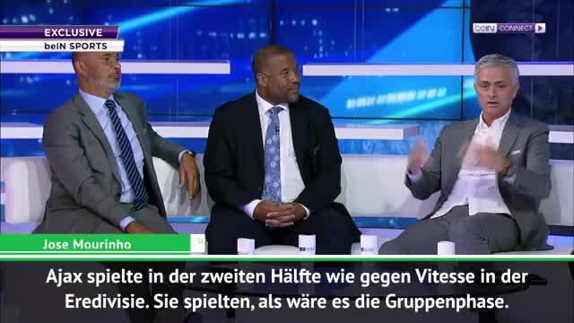 "Mourinho: ""Ajax spielte, als wäre es Vitesse"""