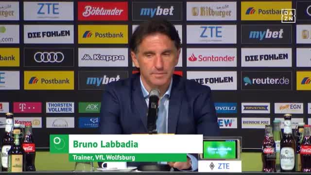 """Labbadia: """"Gladbach sehr in die Karten gespielt"""""""