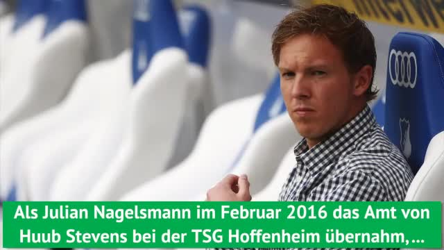 Julian Nagelsmann: Seine Zahlen bei der TSG