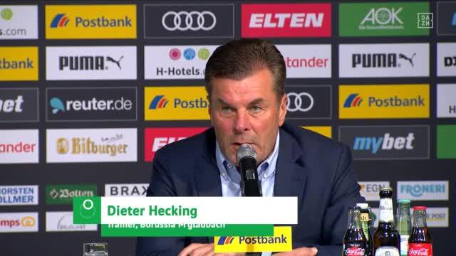 """Hecking: """"Müll wollte aus dem Borussia Park"""""""