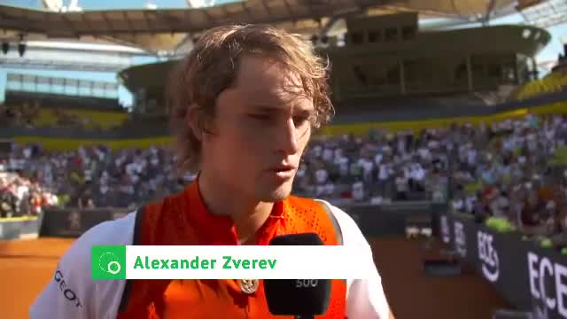 Zverev: Bin immer noch ein guter Tennisspieler