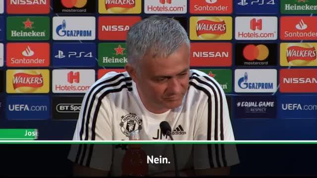 Mecker-Mourinho: Mag diese Pressekonferenz nicht