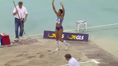 Leichtathletik-DM: Mihambo bejubelt Gold - Doppelsieg für Klein