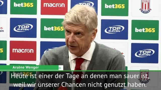 """Wenger sauer: """"Unser Tor hätte zählen müssen"""""""