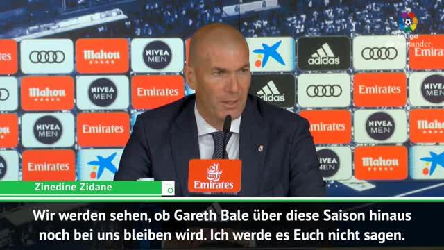 Wieder Pfiffe! So sieht Zidane Bales Situation