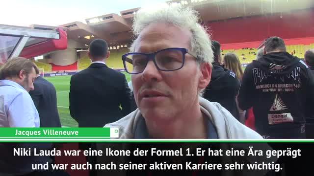 """Villeneuve: """"Lauda eine Ikone der Formel 1"""""""