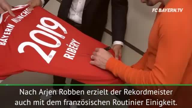 """Ribery bleibt: """"Nächste Saison der CL-Titel"""""""