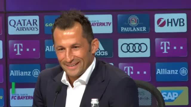 So begrüßt Salihamidzic Kovac in München