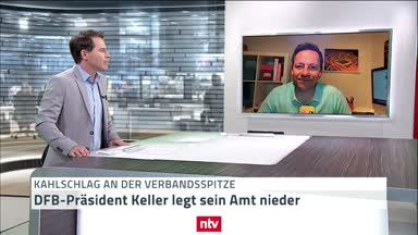 DFB-Präsident Keller legt sein Amt nieder