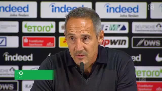 "Hütter: Schiedsrichter? ""Hat mich gestört"""