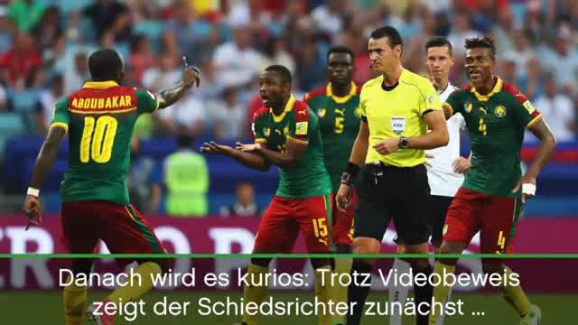 Confed Cup: 3:1! Tore-Debüts und Video-Wirrwarr
