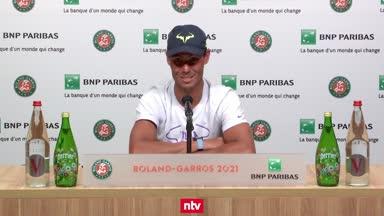 Nadal: Sätze zu verlieren, kann ich akzeptieren