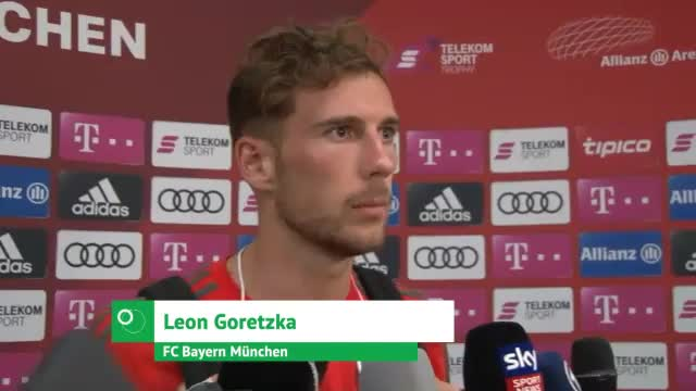 """Goretzka: """"Sehr viel Spaß"""" bei Bayern-Debüt"""