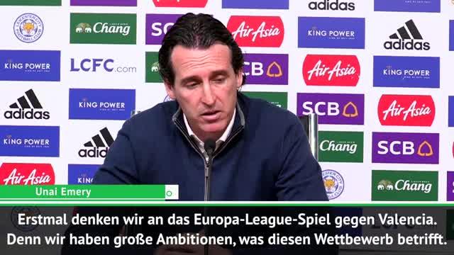 Achtung Frankfurt: Emery schielt auf EL-Titel
