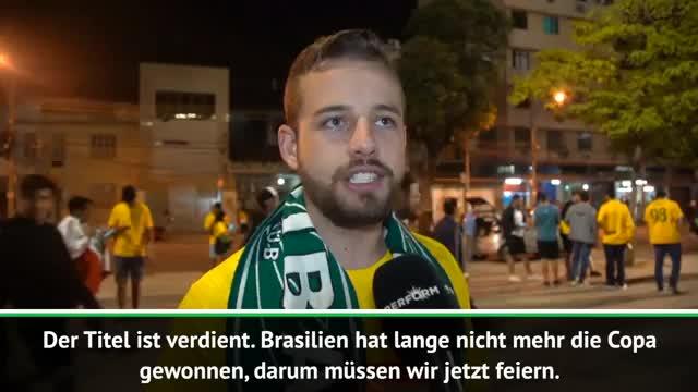 Nach Copa-Finale: Beide Fanlager feiern