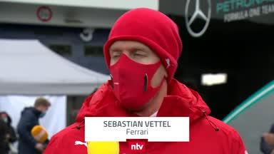 """Vettel zum Rennen: """"Das ging in die Hose"""""""