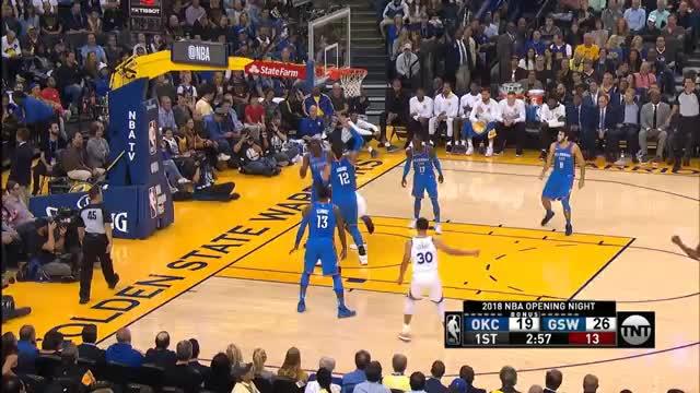 32 Punkte! Curry zerlegt Schröders Thunder