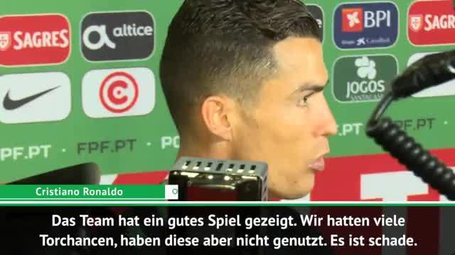 Ronaldo nach Verletzung: So lange falle ich aus