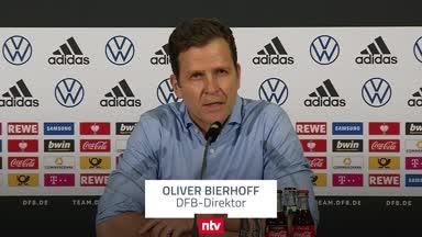 Bierhoff über die DFB-Krise und die Zukunft von Joachim Löw