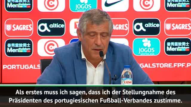 "Santos zum Fall Ronaldo: ""Ich glaube ihm"""