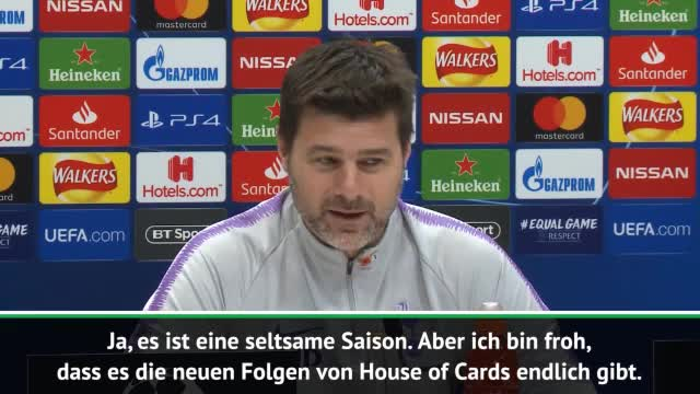Pochettino: House of Cards zur Ablenkung