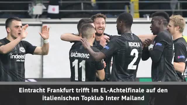 EL-Achtelfinale: Hammer-Los für Frankfurt