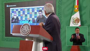 Mexikos Präsident verweist auf Vorbild Ronaldo