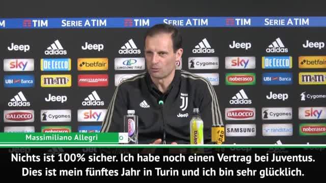 Allegri über Juve-Zukunft: Nichts 100% sicher