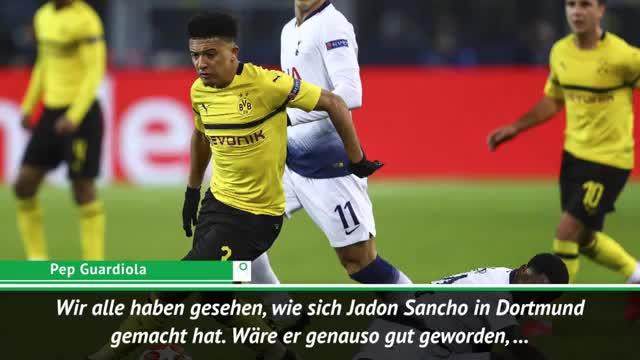 Was wäre, wenn..? Guardiola spricht über Sancho