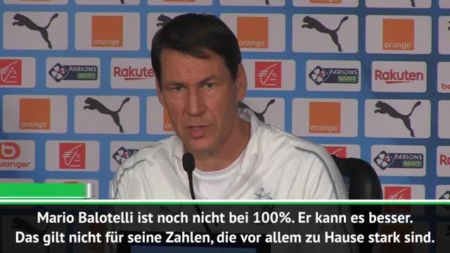 """Garcia mit Kritik: """"Balotelli kann es besser"""""""
