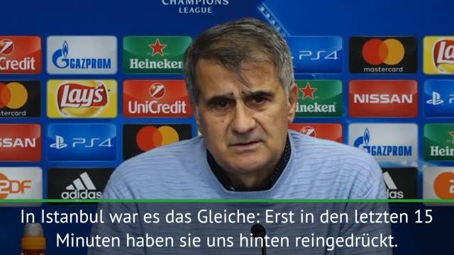 Besiktas-Coach: Leipzig besser als Dortmund