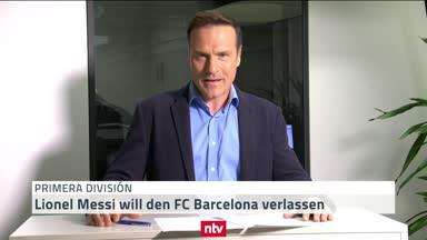Messi plant den Abflug: Ein Erdbeben beim FC Barcelona