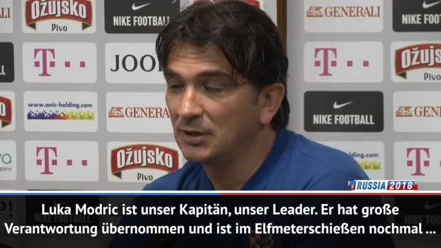 "Kroatiens Dalic: ""Modric ist unser Leader"""