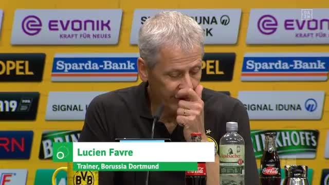 """Favre zum RB-Blitzstart: """"Es war gefährlich"""""""