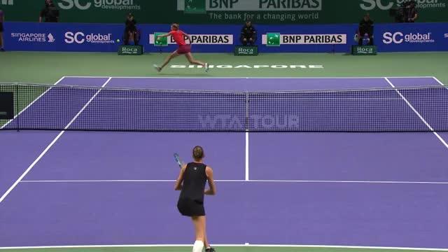 WTA Finals: Pliskova zieht ins Halbfinale ein