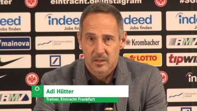"""Hütter: """"Bayern wird trotz allem Favorit sein"""""""