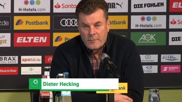 Hecking über Punkteausbeute und Bayern-Knaller