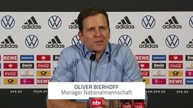 Bierhoff über eine Rückkehr von Müller, Hummels und Boateng