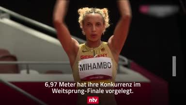Weitsprung-Krimi im Video: Mihambo holt GOLD!