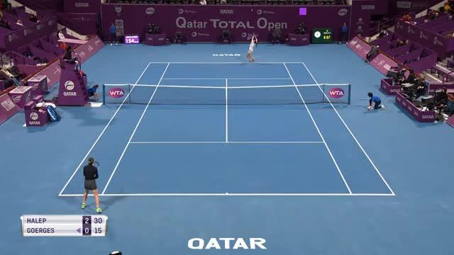 Doha: Traum geplatzt! Görges unterliegt Harlep